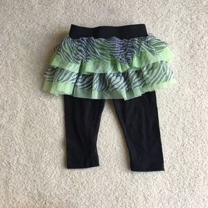 Other - Tutu skirt with leggings